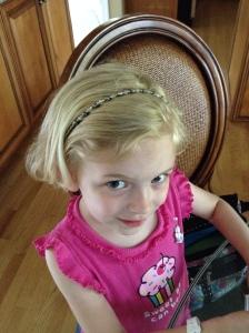 My Daughter Feels So Fancy!