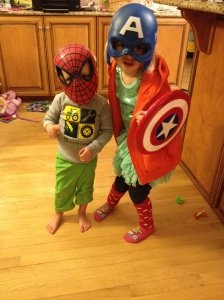 My kids on another normal day!
